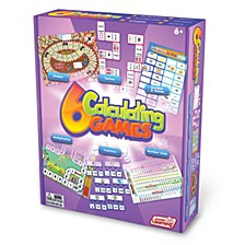Calculating Games Set of 6 Different Games