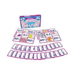 Junior Learning Fraction Bingo Learning Educational Game
