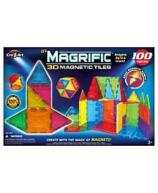 Cra Z Art Magrific 3D Magnetic Tiles Magnetic Toy Set 100 Piece