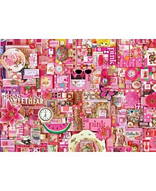Cobble Hill All Things Pink Puzzle 1000 Pieces