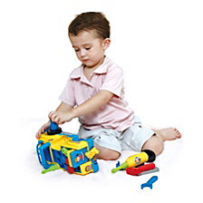 Hola Little Mechanic Take Apart Tool Truck Toy