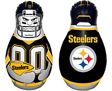 Fremont Die NFL Pittsburg Steelers Tackle Buddy Inflatable Punching Bag