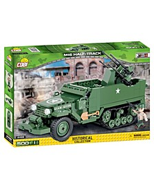 Small Army World War II M16 Half Truck 500 Piece Construction Blocks Building Kit