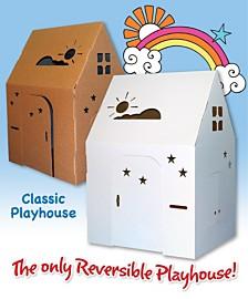Easy Playhouse Classic Cardboard Playhouse