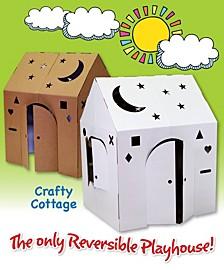 Crafty Cottage Cardboard Playhouse