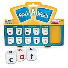 Roll a Word Game Develop Spelling and Word Formation