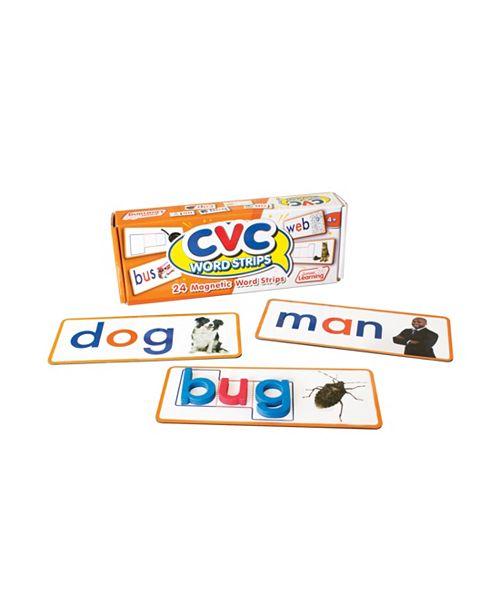 Junior Learning CVC Word Strips Magnetic Learning Set