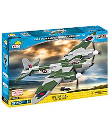 Small Army World War II de Havilland Mosquito MK. VI Airplane 385 Piece Construction Blocks Building Kit