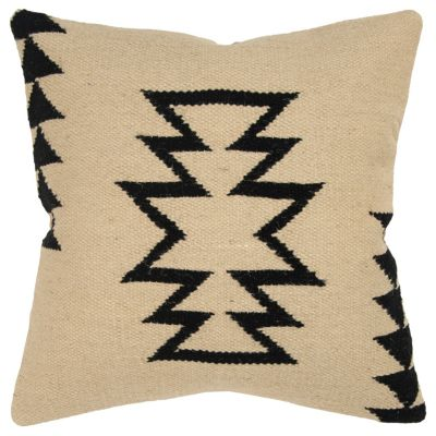 """18"""" x 18"""" Large Arrow motif with offset arrow stripes Down Filled Pillow"""