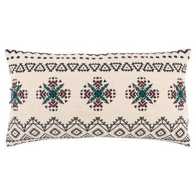 "14"" x 26"" Tribal Design Down Filled Pillow"