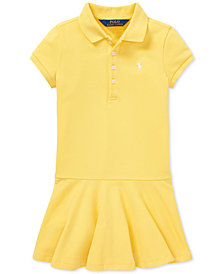 Polo Ralph Lauren Toddler Girls Polo Dress