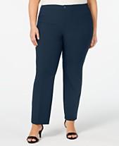 34fdc7e7220 Charter Club Plus Size Straight-Leg Pants