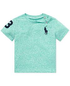 Polo Ralph Lauren Baby Boys Jersey Crewneck T-Shirt