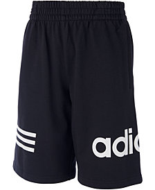 adidas Big Boys Core Cotton Shorts