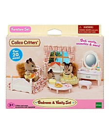 Calico Critters - Bedroom And Vanity