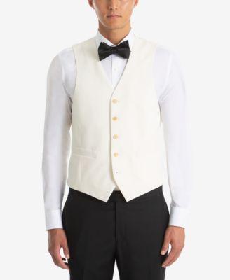 Men's UltraFlex Classic-Fit Twill Wool Vest