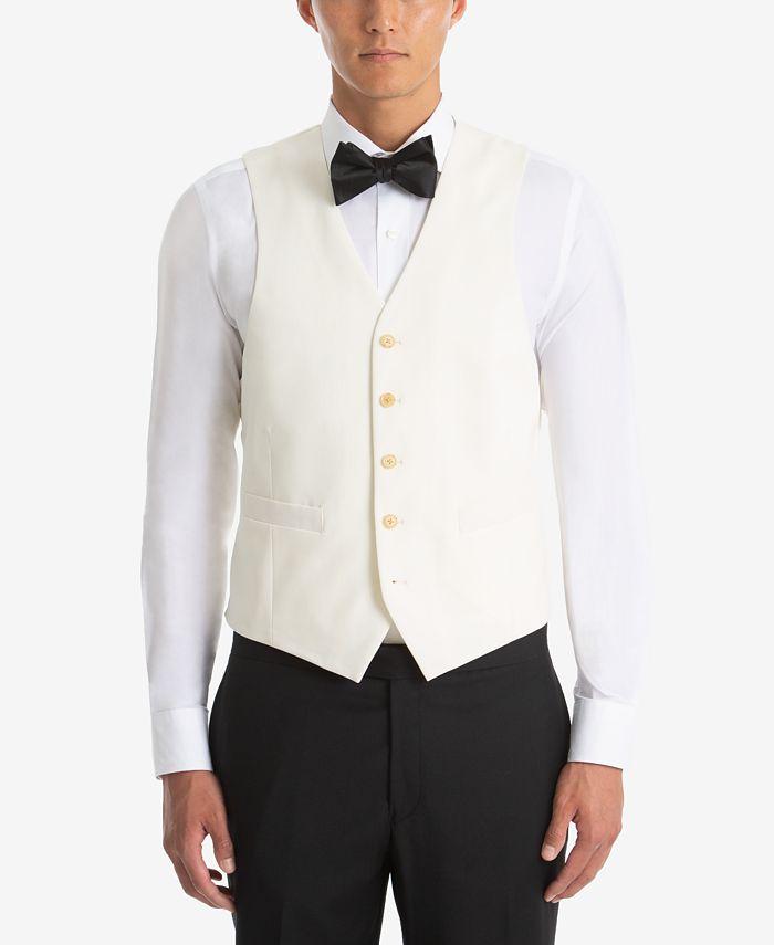 Lauren Ralph Lauren - Men's UltraFlex Classic-Fit Twill Wool Vest