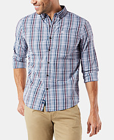 Dockers Men's Alpha Icon Plaid Shirt