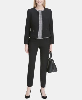 Highline Skinny Cropped Dress Pant