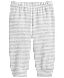 First Impressions Baby Boys & Girls Striped Cotton Jogger Pants, Created for Macy's