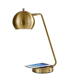 Emerson Wireless Charging LED Desk Lamp