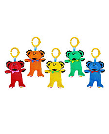 5-Pack of Grateful Dead Multi Functional Dancing Bear Plush Toys by Daphyl's