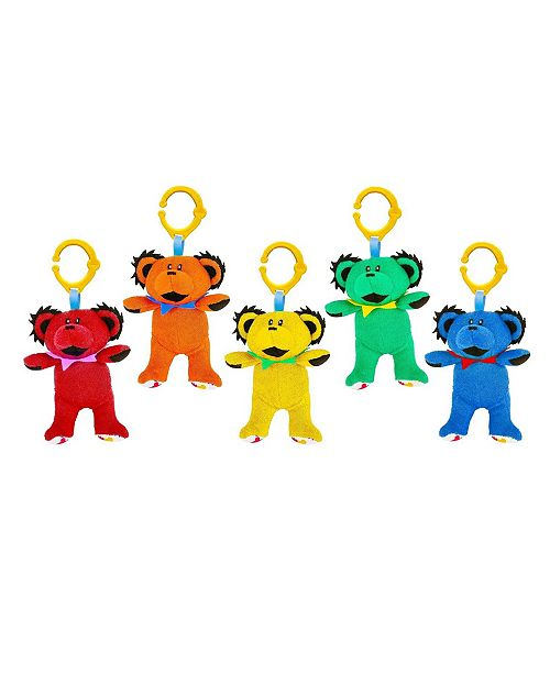 Daphyl's 5-Pack of Grateful Dead Multi Functional Dancing Bear Plush Toys