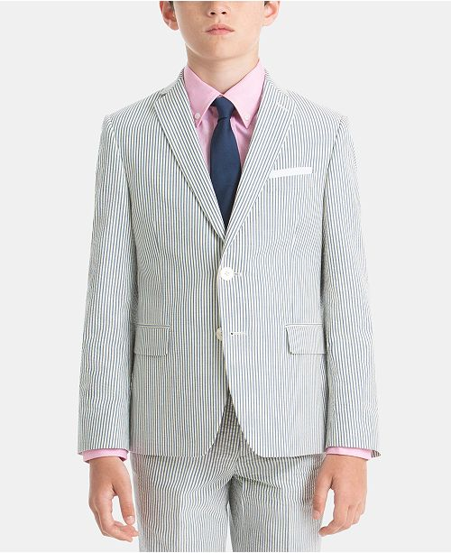 Lauren Ralph Lauren Little Boys Cotton Suit Jacket
