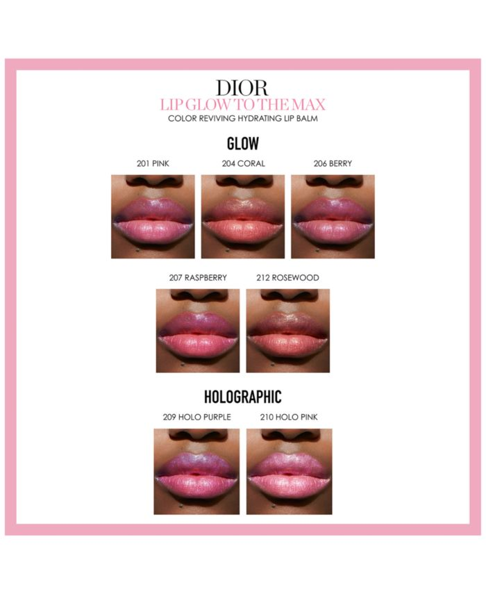 Dior Lip Glow To The Max Hydrating Color Reviver Balm & Reviews - Makeup - Beauty - Macy's