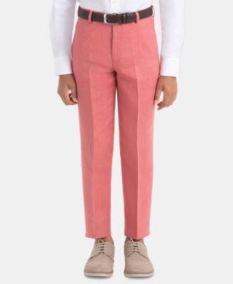 Little Boys Linen Dress Pants