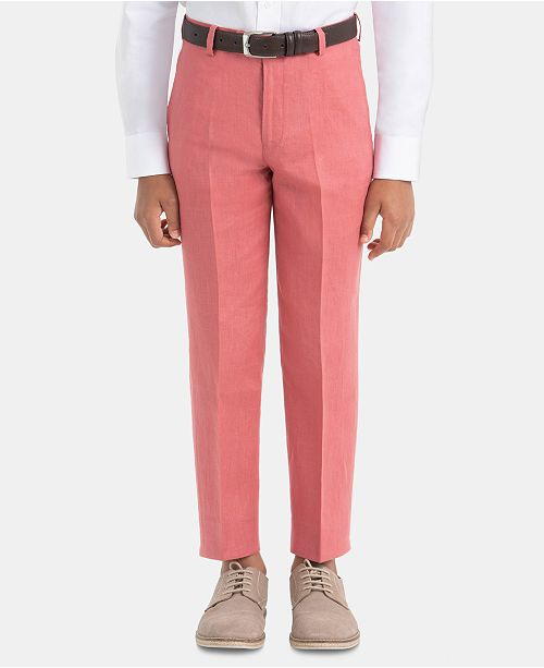 Lauren Ralph Lauren Big Boys Linen Dress Pants
