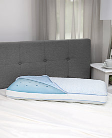 SensorGel Arctic Gusset Gel-Infused Memory Foam Pillow with Cool Coat Technology - King