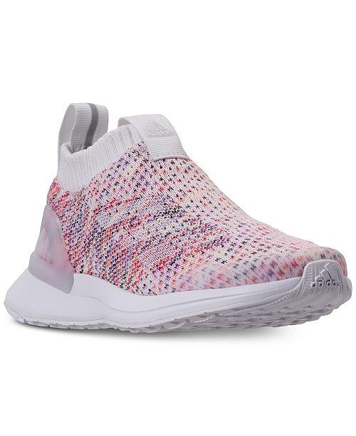 48e857d0673 ... adidas Little Boys  RapidaRun Laceless Knit Running Sneakers from  Finish ...