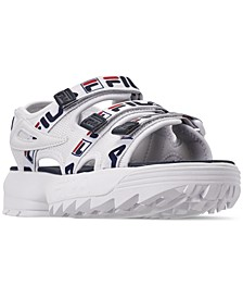 Women's Disruptor Logo Athletic Sandals from Finish Line