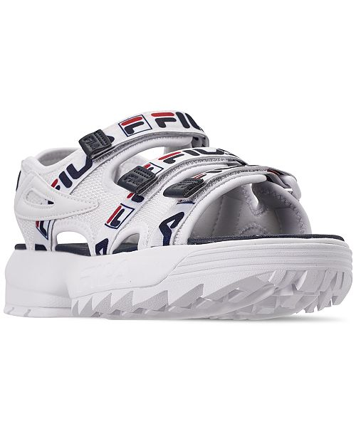 6cf17e67d2cc Fila Women s Disruptor Logo Athletic Sandals from Finish Line ...
