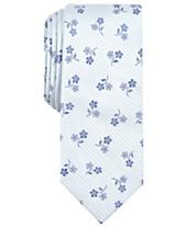 Bar III Mens Hobsons Floral Skinny Tie Created For Macys