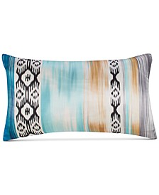 "Alessia Multicolor Silk 12""x20"" Decorative Pillow"
