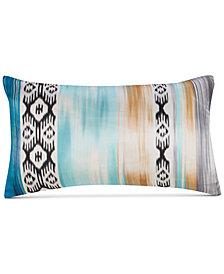 """Alessia Multicolor Silk 12""""x20"""" Decorative Pillow"""