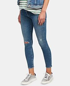A Pea in the Pod Maternity Distressed Skinny Jeans