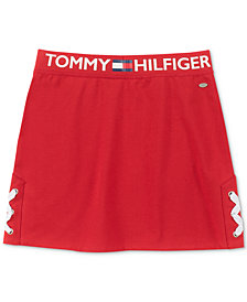 Tommy Hilfiger Big Girls Side Lace Skirt