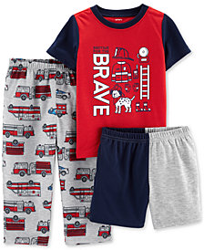 Carter's Toddler Boys 3-Pc. Rescue Pajamas
