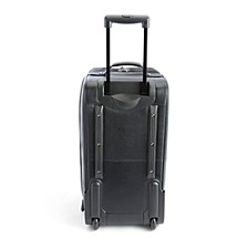 Royce New York Pebbled Leather Rolling Weekender Duffel Bag