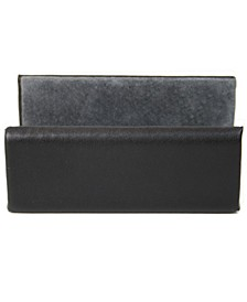 Suede Lined Business Card Holder