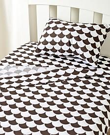 Lolli Living Toddler Sheet Set - Pillowcase, Flat Sheet, Fitted Sheet