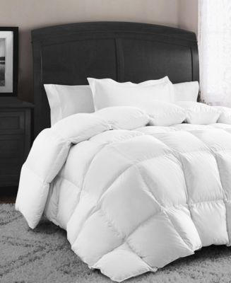 Down and Feather Cotton King Comforter