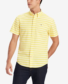 Tommy Hilfiger Men's Shaw Stripe Shirt, Created for Macy's