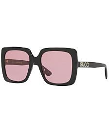 Gucci Sunglasses, GG0418S 54