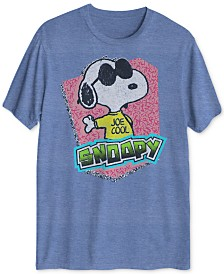 Peanuts Collection- Joe Cool Men's Graphic T-Shirt