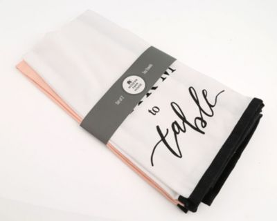 Set of 2 Farm to Table Towels