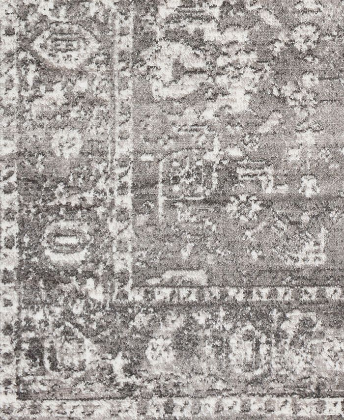 "Abbie & Allie Rugs - MNC-2311 Light Gray 18"" Square Swatch"